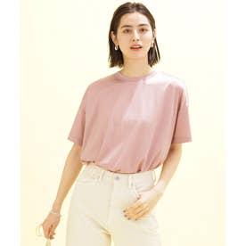 SHINY Tee オーバーTシャツ 半袖 ピンク