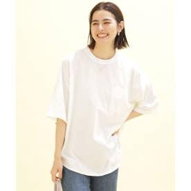 TOUGH TEE ポケットTシャツ 五分袖 ホワイト