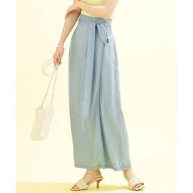 サークルデニムラップスカート (セットアップ可) サックス5