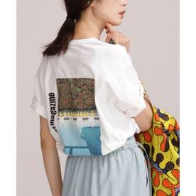 FRUIT OF THE LOOM/別注ANNAMAGAZINE フォトTシャツ 半袖 パターン21