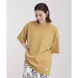 JEMORGAN/別注クルーネックポケットTシャツ 半袖 イエロー
