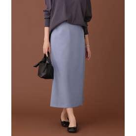 ウーリッシュラップスカート ブルー
