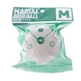 ユニセックス 軟式野球 試合球 ナイガイベースボールM号 133110