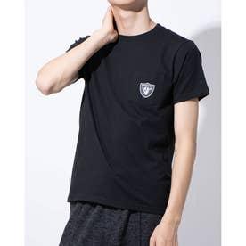 ナノ ユニバース アウトレット 【Majestic(USA)】ポケットデザインコットンTシャツ (ブラック)