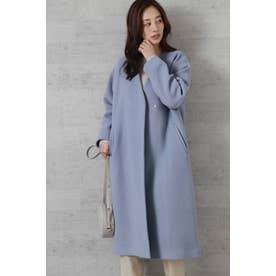 MANTECOカラーレスコート ブルー