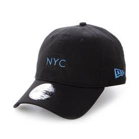 NEWERA/キャップ 12654520 (ブラック×ブルー)