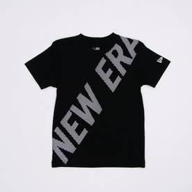 ジュニア 半袖Tシャツ NEW ERAニューエラ12674113半袖Tシャツブラック 12674113 (ブラック)