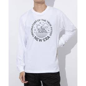 アウトドア 長袖Tシャツ OD LS CTEE MOUCIR LOGO WHI BLK 12542660 (ホワイト)