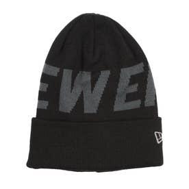 NEW ERA/ビーニー ニット帽 12854557 (ブラック×グレー)