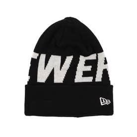 NEW ERA/ビーニー ニット帽 12854556 (ブラック×ブラック)