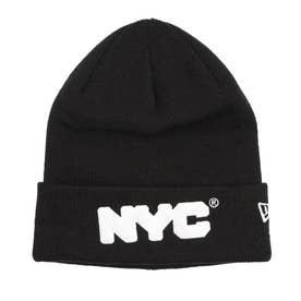 NEW ERA/ビーニー ニット帽 12864442 (ブラック)