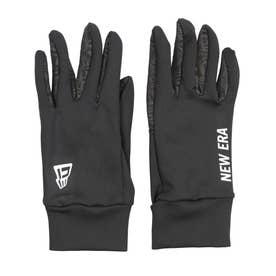 NEWERA/防寒 手袋 12541272 (ブラック×ホワイト)