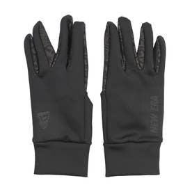 NEWERA/防寒 手袋 12854760 (ブラック×ブラック)