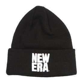 NEW ERA/ビーニー ニット帽 12540526 (ブラック)