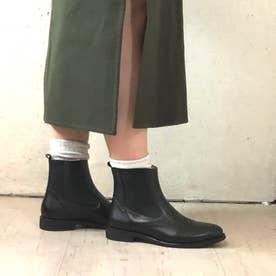 サイドゴアショートブーツ/4282 (ブラック)