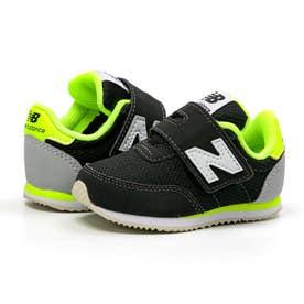 IV720 ベビー キッズ スニーカー シューズ 靴 BY2 ON2 NP2 (ブラック/ライム(BY2))