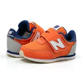 IV720 ベビー キッズ スニーカー シューズ 靴 BY2 ON2 NP2 (オレンジ/ネイビー(ON2))