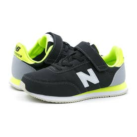 YZ720 ジュニア キッズ スニーカー シューズ 靴 BY2 NP2 ON2 (ブラック/ライム(BY2))