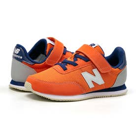 YZ720 ジュニア キッズ スニーカー シューズ 靴 BY2 NP2 ON2 (オレンジ/ネイビー(ON2))
