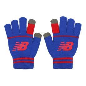 ジュニア 手袋 スポーツニットグローブ_ LAH13012 (レッド)