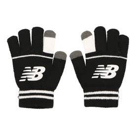 ジュニア 手袋 スポーツニットグローブ_ LAH13012 (ブラック)
