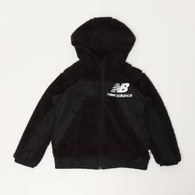 ジュニア フリースジャケット ボアジャケット_ JJJP1322 (ブラック)