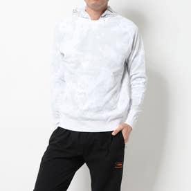 メンズ ゴルフ 長袖セーター 2WAYチェリーブロッサムカモジャガードニットパーカー 0120170001