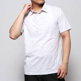 メンズ ゴルフ 半袖シャツ ウィンドウペーンチェリーブロッサムカモプリントシャツ 0120168001