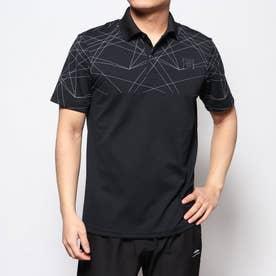 メンズ ゴルフ 半袖シャツ モーションレーザープリントポロシャツ 0120160002