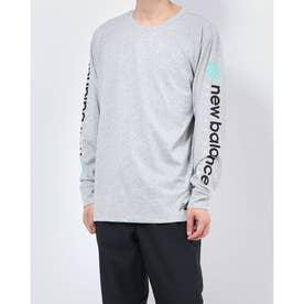 メンズ 長袖機能Tシャツ OUTDOOR PerformanceヘザーテックロングスリーブTシャツ AMT03063
