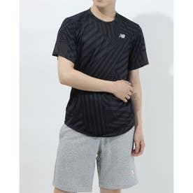 メンズ 陸上/ランニング 半袖Tシャツ AMT11241 AMT11241 (ブラック)