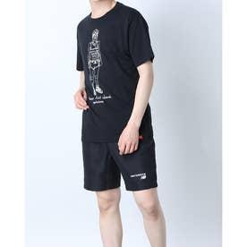 メンズ 半袖Tシャツ NB Essentials ランナーTシャツ MT11543 MT11543 (ブラック)