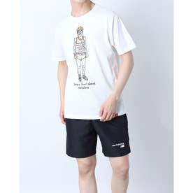 メンズ 半袖Tシャツ NB Essentials ランナーTシャツ MT11543 MT11543 (ホワイト)
