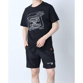 メンズ 半袖Tシャツ NB Essentials シューボックスTシャツ MT11542 MT11542 (ブラック)