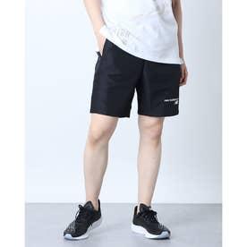 メンズ ウインドハーフパンツ クラシックウィンドブレーカーショーツ MS11902 MS11902 (ブラック)