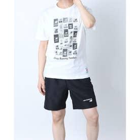 メンズ 半袖Tシャツ NB Essentials ブランドラベル パックTシャツ MT11526 MT11526 (ホワイト)