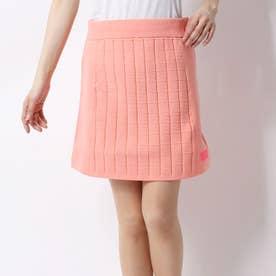 レディース ゴルフ スカート ミラノリブウィンドウペーンxプレーンニットスカート 0120134503