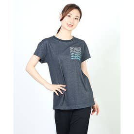 レディース 半袖機能Tシャツ AWT11191 AWT11191 (ネイビー)