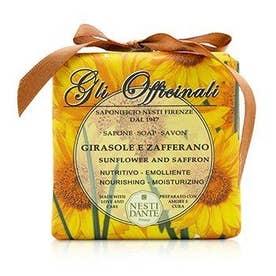 ボディソープ 200g グリ オフィシナリ ソープ - Sunflower & Zafferano - Nourishing & Moisturizing