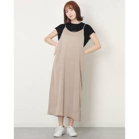 レディース フィットネス チュニックシャツ サテンキャミワンピース NJE-01060 (他)