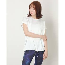 レディース フィットネス 半袖Tシャツ 裾シャーリングプルオーバー NJM-01290 (他)