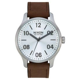 Patrol Leather (Silver / Brown)