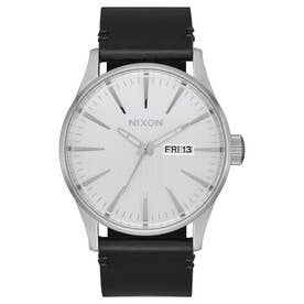 Sentry Leather (All Silver / Black)