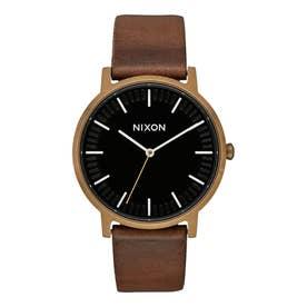 Porter Leather (Brass / Black / Brown)