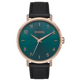 Arrow Leather (Rose Gold / Emerald)