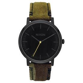 Porter Leather (Black / Camo / Volt)