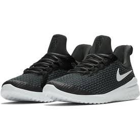 リニュー ライバル メンズ スニーカー シューズ ランニング ジョギング トレーニング ウォーキング ジム AA7400 (ブラック/ホワイト(001))