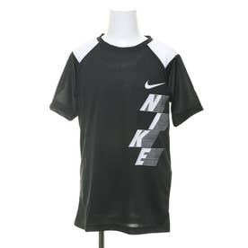 ジュニア 半袖機能Tシャツ YTH ドミネイト グラフィック S/S トップ CU8955010 (ブラック)