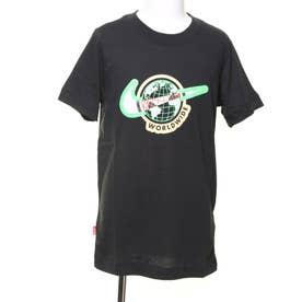 ジュニア 半袖Tシャツ YTH NSW フットウェア 1 S/S Tシャツ DB3708010 (ブラック)