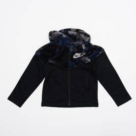 ジュニア フリースジャケット YTH NSW シェルパ ウィンターライズド WR ジャケット CU8942010 (ブラック)
